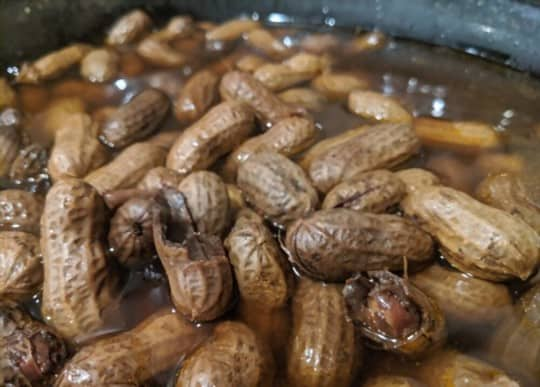 how to reheat boiled peanuts in steamer