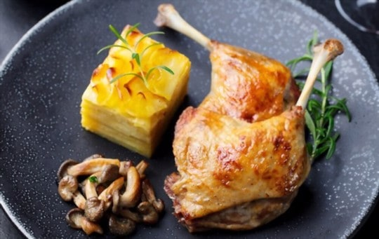 how to reheat duck confit in oven
