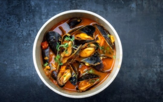 how to reheat mussels in broth
