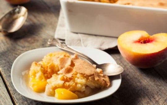 how to reheat peach cobbler on stove
