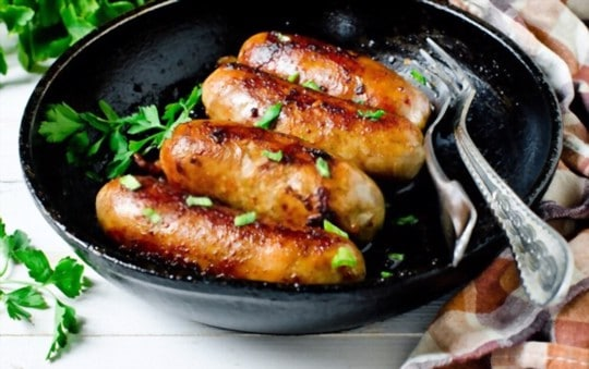 how to reheat sausages in an air fryer