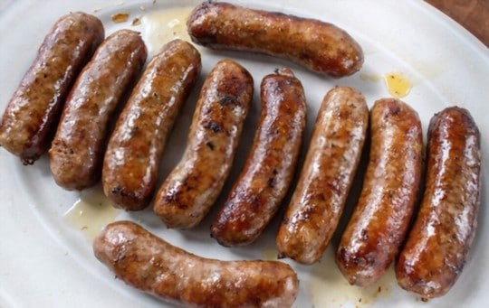 how to reheat sausages in an oven