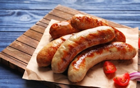 how to store leftover sausages