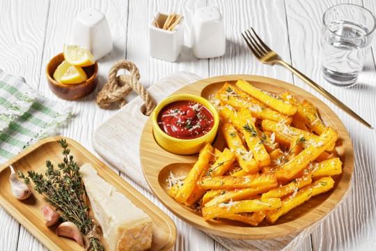 parmesan polenta fries