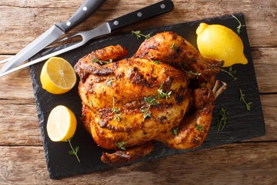 what is rotisserie chicken