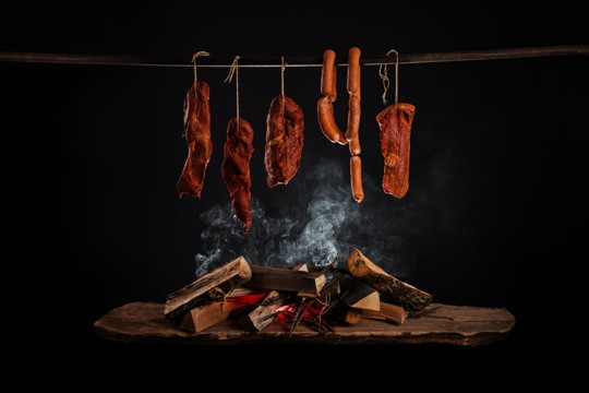 does smoking preserve meat