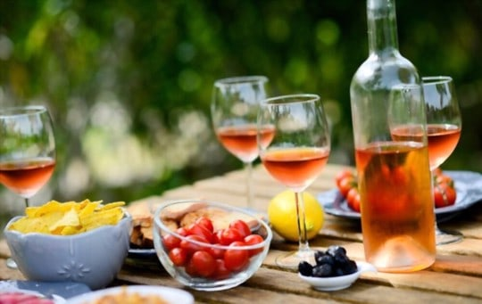 food pairing with ros wine