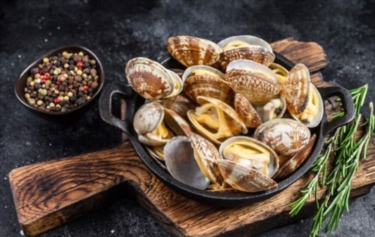 health and nutritional benefits of clams