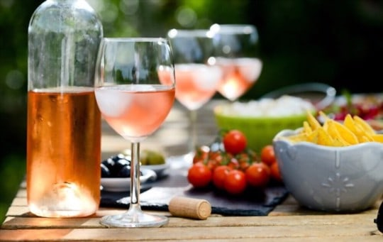 how is ros wine produced