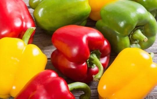 how long do bell peppers last