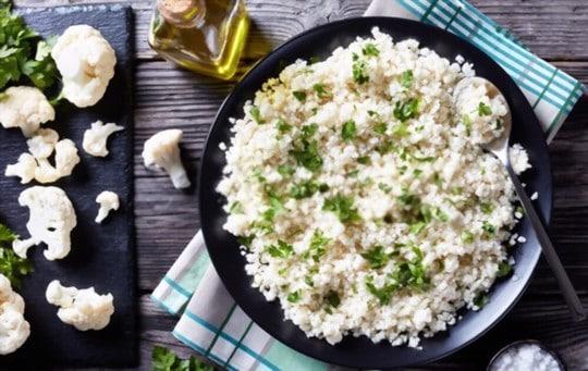 how to cook frozen cauliflower rice