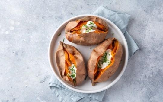 how to freeze baked sweet potatoes