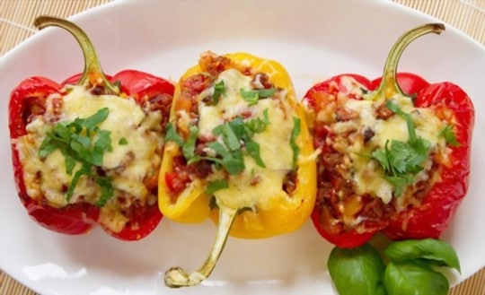 how to freeze cooked stuffed peppers