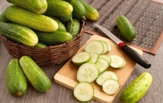 how to freeze cucumber slices