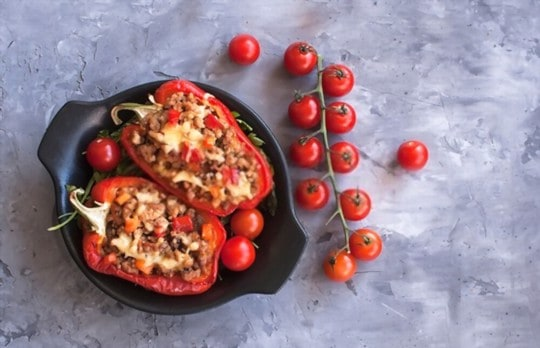 how to reheat frozen stuffed peppers in microwave