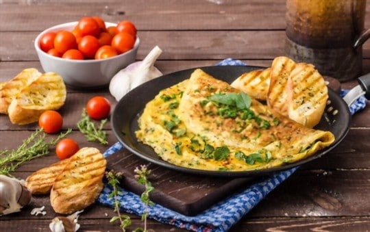 how to reheat omelette on stovetop