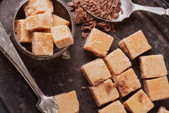 how to store fudge made with condensed milk