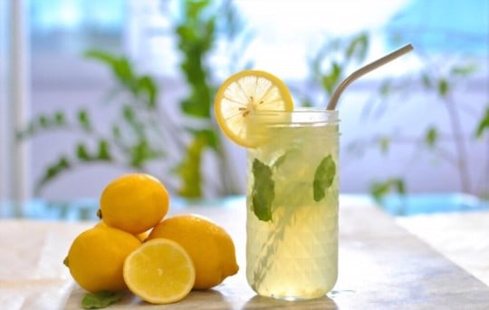 how to store lemon water