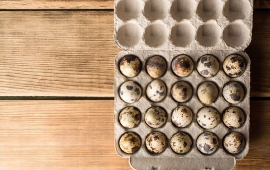 how to store quail eggs