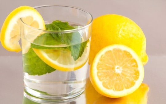 how to tell if lemon water is bad