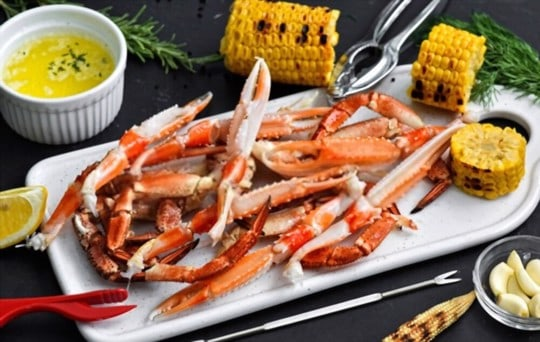nutritional facts of crab legs
