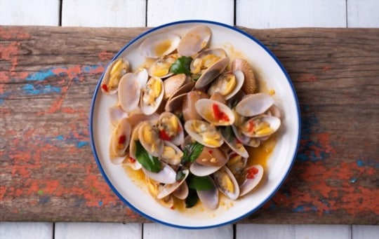 signs that your clams have gone bad