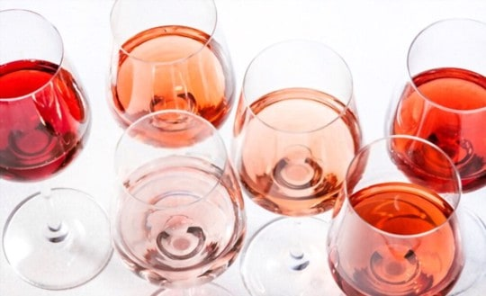 types of ros wine