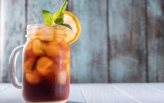 what does iced black tea taste like