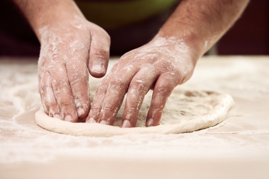 what is pizza dough