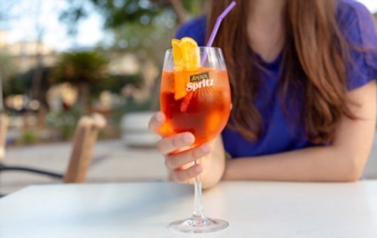 what the best way to drink aperol