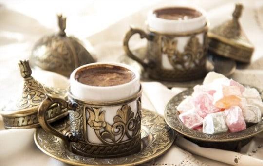 can you put milk in turkish coffee