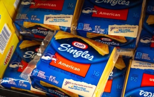 can you store american cheese in fridge
