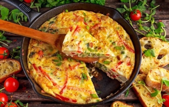does freezing affect frittata flavor