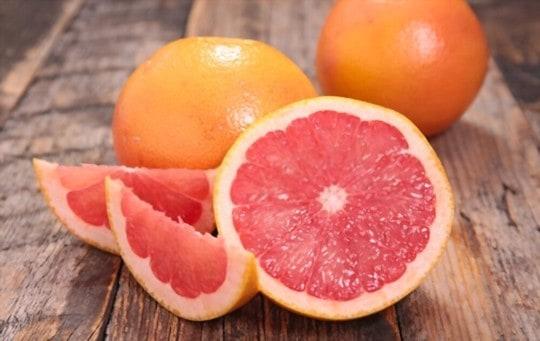 does freezing affect grapefruit