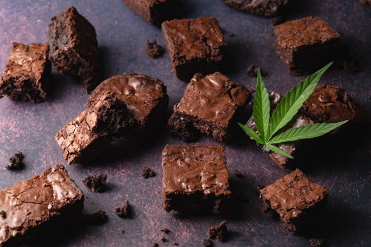 effects of weed brownies for the first time