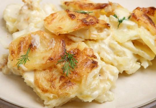 gratin dauphinoise potatoes