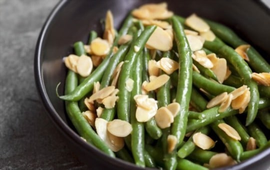 green beans with almonds and sherry