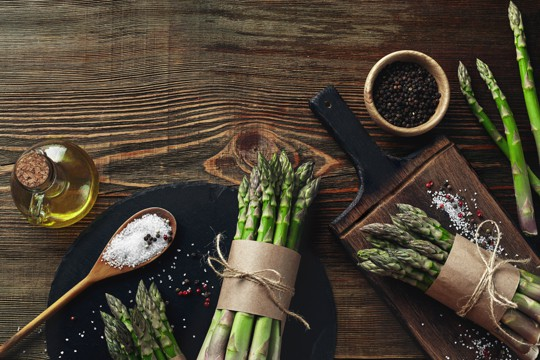 how to find and choose asparagus