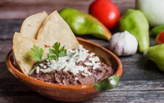 how to freeze refried beans