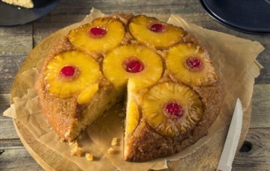 how to properly freeze pineapple upsidedown cake