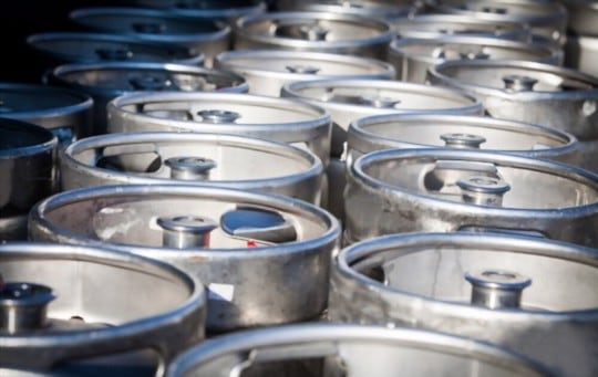 how to store a keg of beer