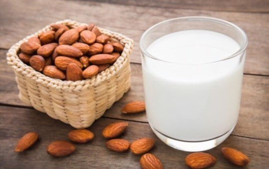 how to store almond milk