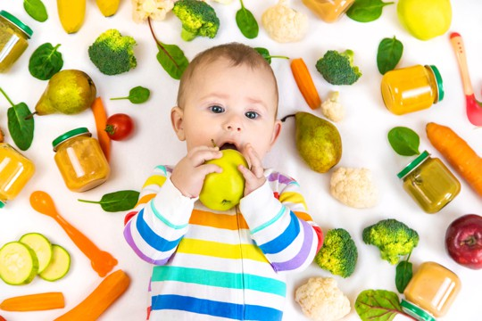 how to store baby food