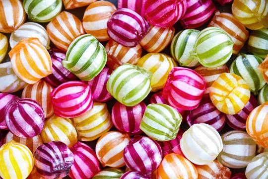 how to store hard candy