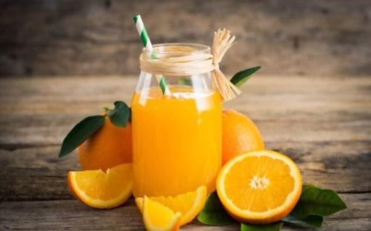 how to store orange juice