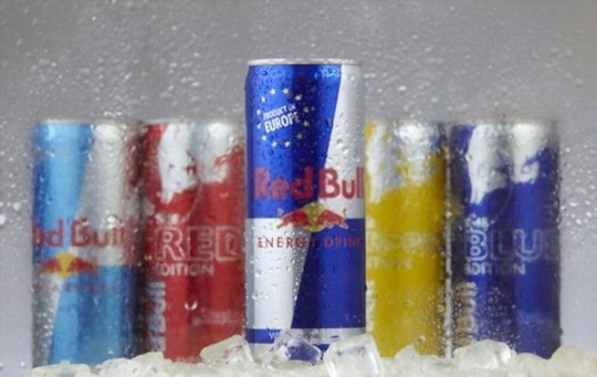 how to store red bull