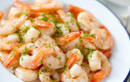 how to tell if cooked shrimp is bad
