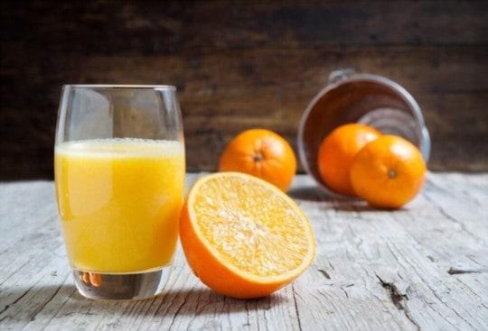 how to tell if orange juice is bad