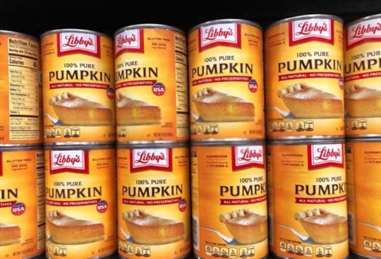 how to thaw canned pumpkin