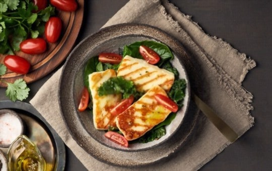 how to use thawed halloumi